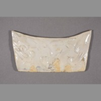 Ceramic: pillow ends