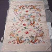 Silk: embroidered sheet