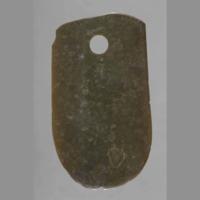 Adze-shaped jade